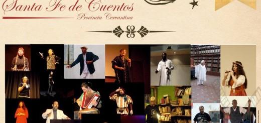 """11° Festival Internacional de Oralidad Artística Narración Oral Escénica, Tradición Oral y Juglaría """"SANTA FE DE CUENTOS: Provincia Cervantina"""""""