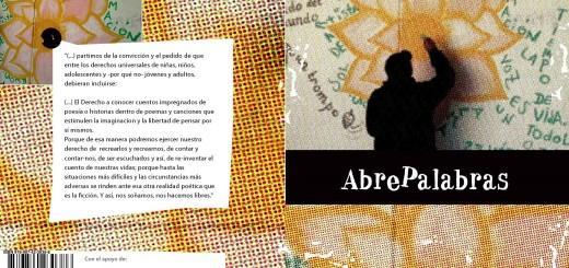 Tapa y contratapa de libro ABREPALABRAS