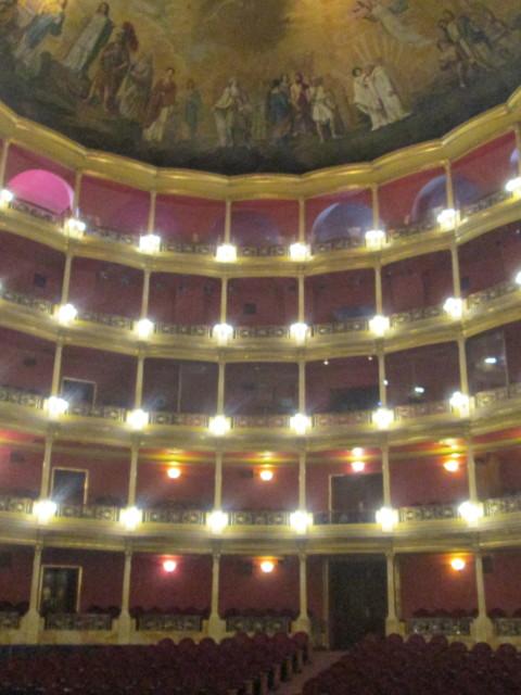 palcos y tertulia Teatro Degollado