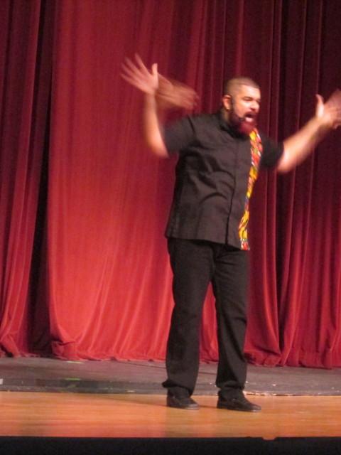 Rubén Corbett en Espectáculo