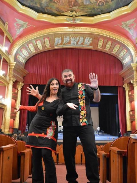 Marcela Sabio- Rubén Corbett en Teatro Degollado