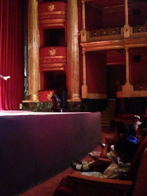 Marcela Sabio en espectáculo Teatro Degollado