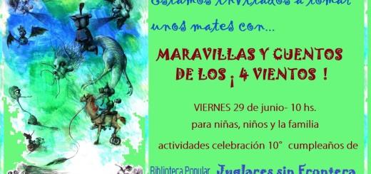 Maravillas y Cuentos de los 4 Vientos Marcela Sabio - Jorge E. Mockert