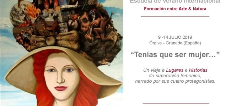 Tenías que ser Mujer Marcela Sabio representando a Argentina y América en ABRIDA (Orgiva- Granada, España)